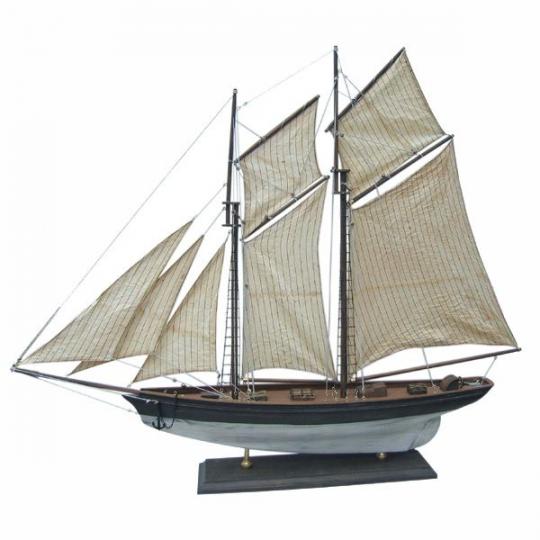 Segel-Yacht L: 85cm, H: 72cm
