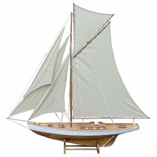 Segel-Yacht L: 125cm, H: 135cm