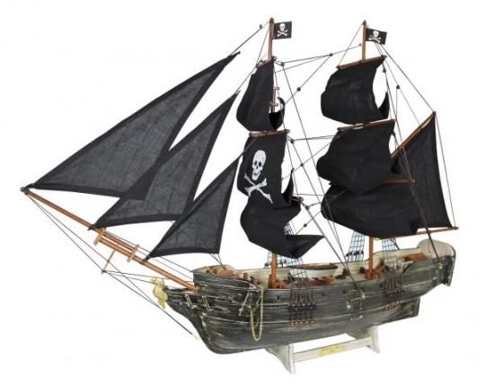 Piratenschiff, Black PearlL: 78cm, H: 60cm