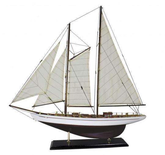 Segel-Yacht L: 71cm, H: 74cm