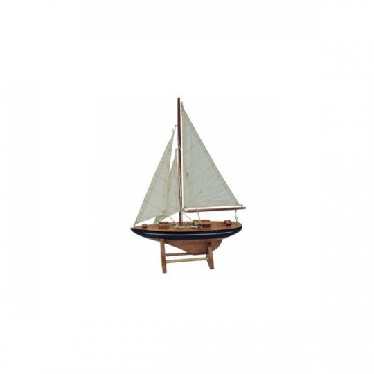 Segel-Yacht L: 25cm, H: 35cm