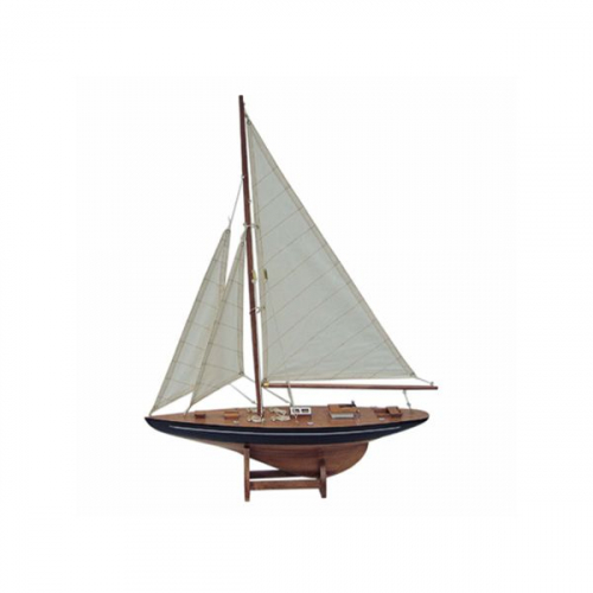 Segel-Yacht L: 40cm, H: 55cm