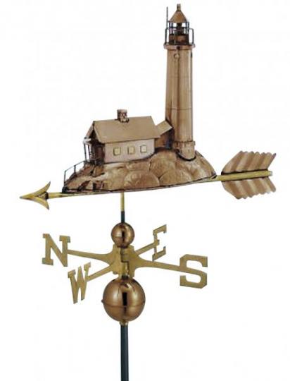 Wetterfahne - Leuchtturm