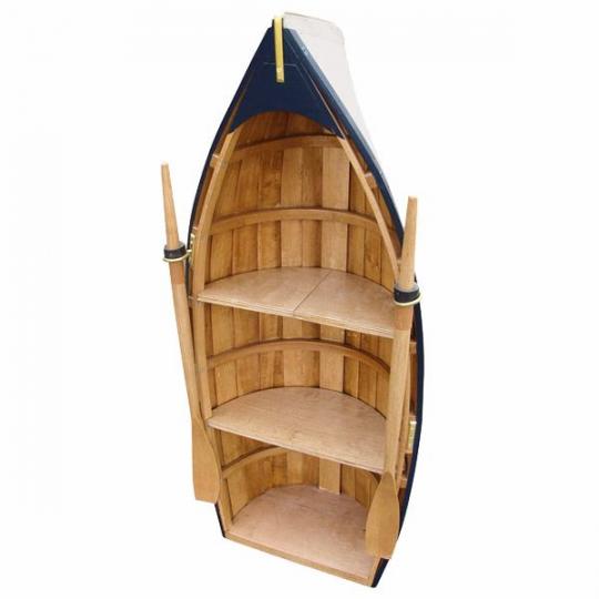 Boot-Regal groß