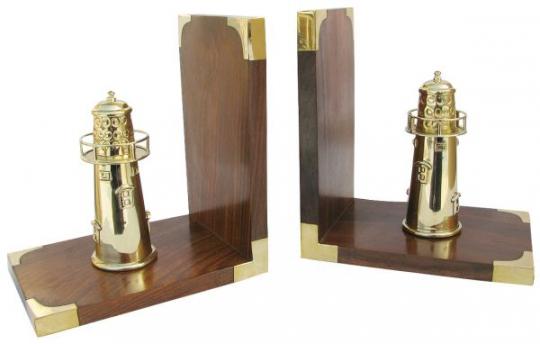 Buchstützen-Leuchttürme