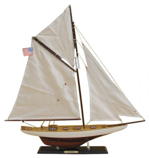 Segel-Yacht - COLUMBIA  L: 59cm, H: 60cm