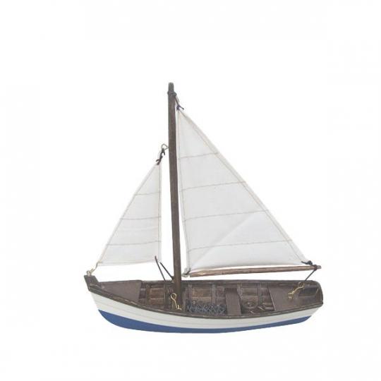 Fischerboot L: 19cm, H: 20cm