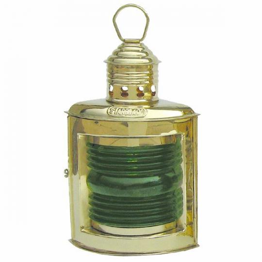 Steuerbordlampe-Positionslampe grün 23cm