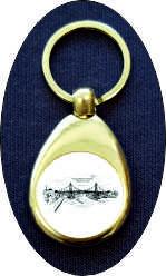 Schlüsselanhänger-KW-Brücke