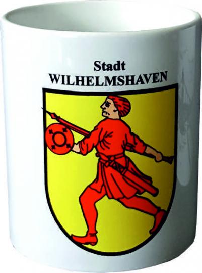 Wilhelmshaven-Kaffeebecher-Friese