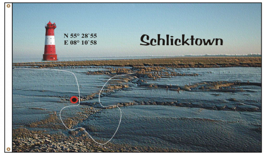 Fahne Wilhelmshaven Schlicktown