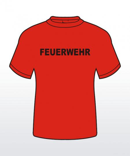T-Shirt mit Behördenaufdruck 1-zeilig