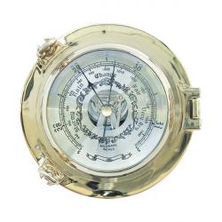 Barometer im Bullauge 14cm