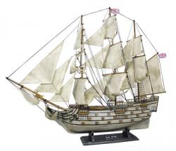 Schiffsmodell - H.M.S.Victory L: 86cm, H: 74cm