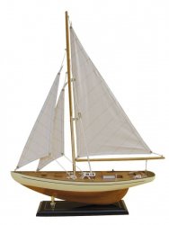 Segel-Yacht L: 40cm, H: 54cm