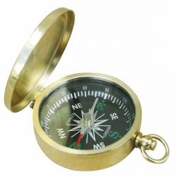 Kompass mit Deckel