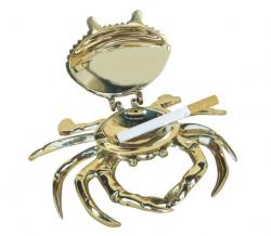 Aschenbecher-Krabbe