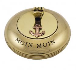 Taschen Klappascher Moin Moin Messing