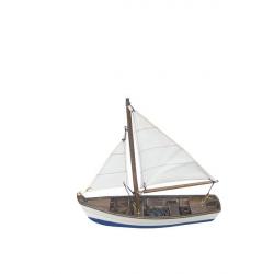 Fischerboot L: 16cm, H: 14,5cm