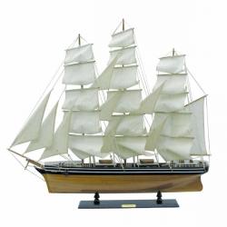 Segelschiff - Cutty Sark L: 100cm, H: 90cm