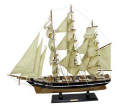 Segelschiff - Cutty Sark L: 55cm, H: 50cm