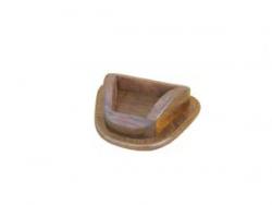 Taucherhelm, 19cm, mit Holzsockel 7cm