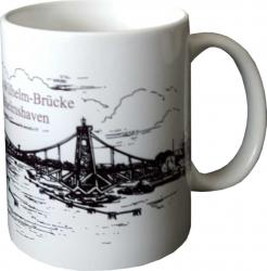 Wilhelmshaven Kaffeebecher KW-Brücke