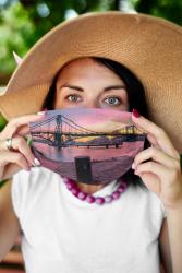 Gesichtsmaske KW-Brücke