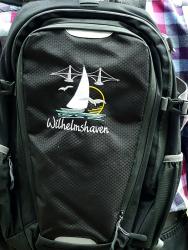 Wilhelmshaven Rucksack bestickt mit Wilhelmshaven-Motiv Quadra SLX® 20 Litre Daypack
